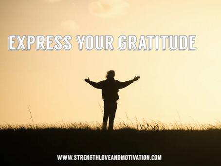 Express Your Gratitude by Jaylynn Davis