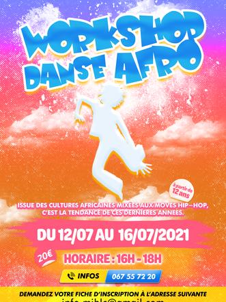 Workshop Danse Afro