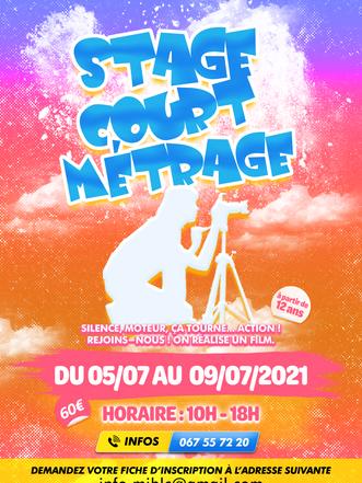 Stage court-métragre