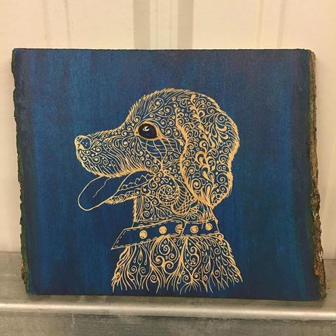 Puppy! #InstaEtchStudio #ArtByAsha.jpg