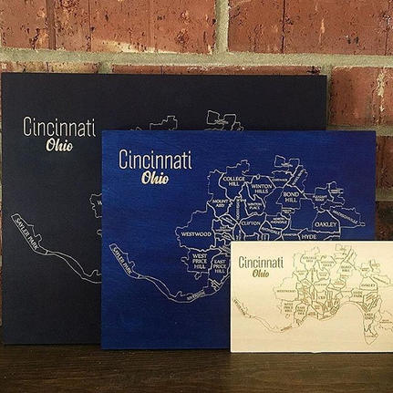 Fancy a Cincinnati Map for your home_ Wh