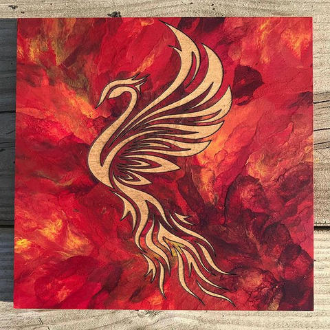 Phoenix takes flight._._._ONLY ONE avail