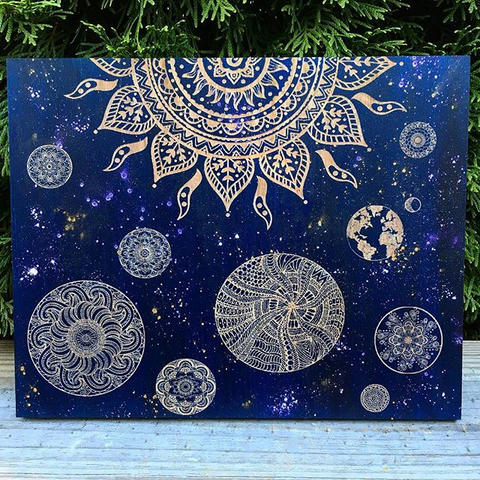Mandala Solar System - available for pur
