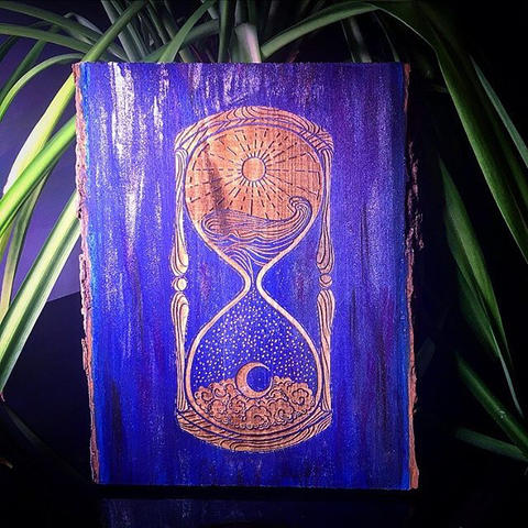 Sands of time #InstaEtchStudio #ArtByAsh