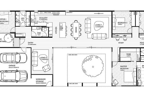Floor Plan A Onsite Single Storey
