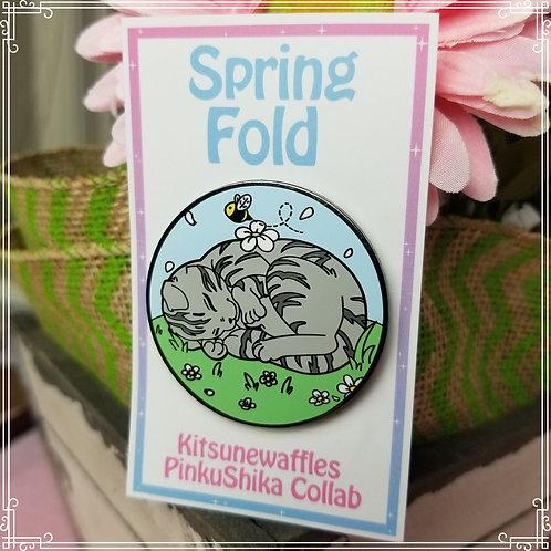 Spring Fold Pin