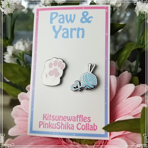 Paw & Yarn Mini Pin Set