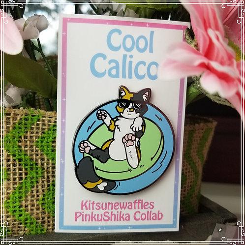 Cool Calico Pin
