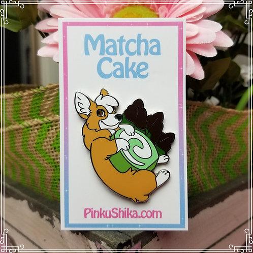 Matcha Cake Pin