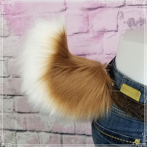 Amber Brown Rabbit Tail