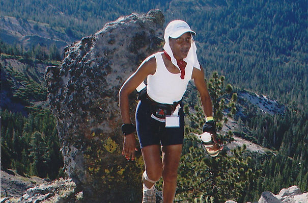Lisa Felder Western States 100  Squaw Valley CA 6/26/2004