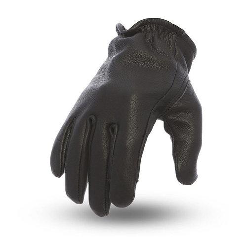 Short Cuff Roper Gloves in Black