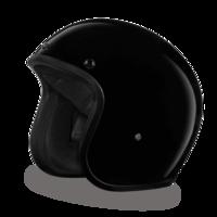 Daytona 3/4 Helmet in Gloss Black