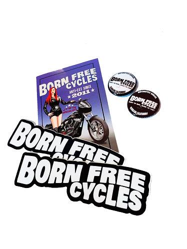 Pins & Sticker Pack