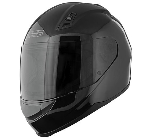 SS700 Full Face Helmet in Gloss Black