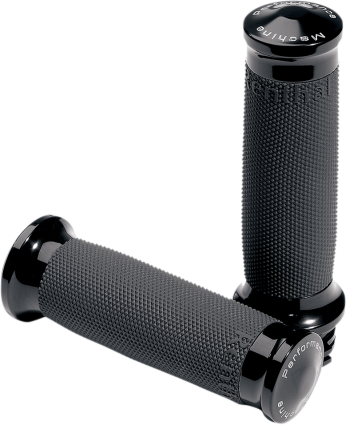PM Contour Renthal Wrapped Grips Black