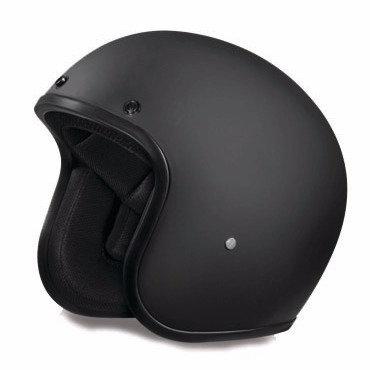 Daytona 3/4 Helmet in Flat Black