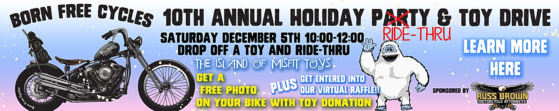 10th Annual Holiday Ride-Thru & Toy Drive