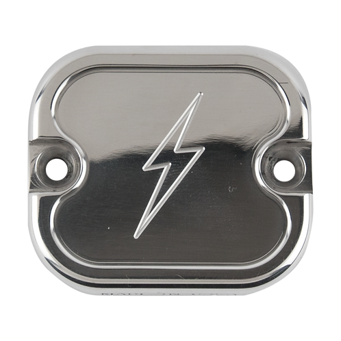 FX, FL Polished Dished Front Brake Reservoir by Thrashin Supply