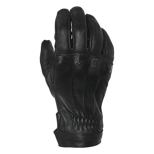 Fast Life Leather Gloves Onyx