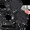 Thumbnail: Dual Gauge Brackets Wrinkle Black