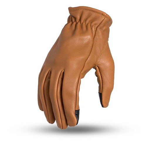 Short Cuff Roper Gloves in Whiskey