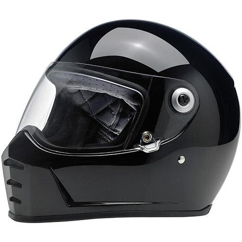 Lane Splitter Helmet in Gloss Black
