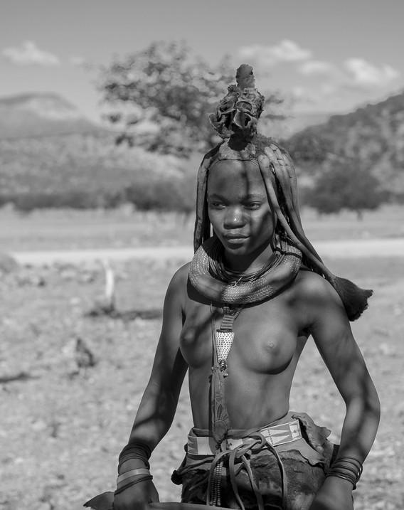 16 - Himba girl