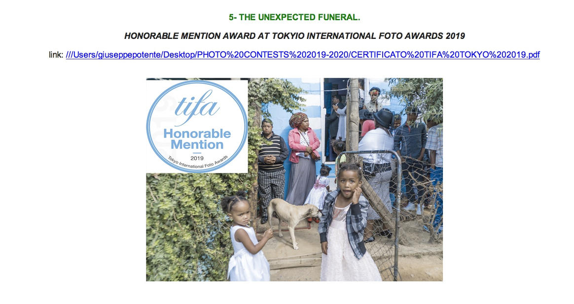 The Unexpected Funeral