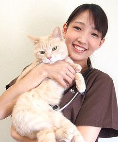 浜井翠 副院長 猫