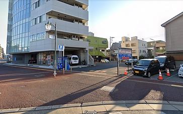 千葉診療所 駐車場 入り口