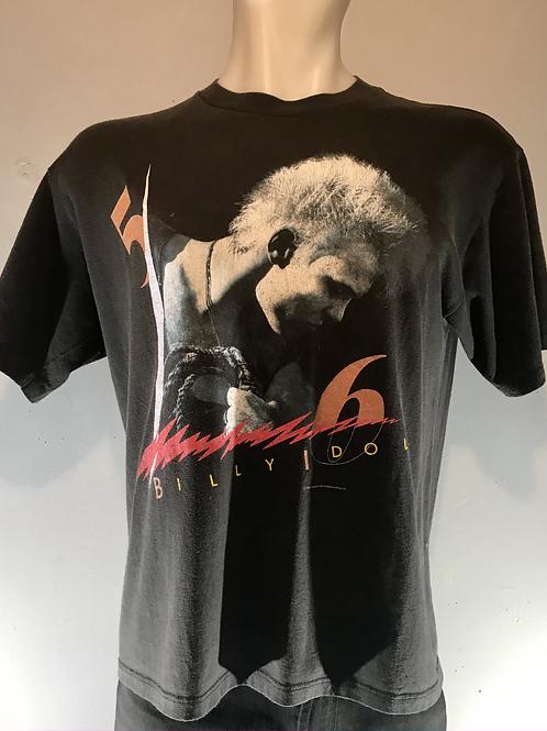 """Billy Idol 1986 """"Whiplash Smile"""" Tour Shirt"""