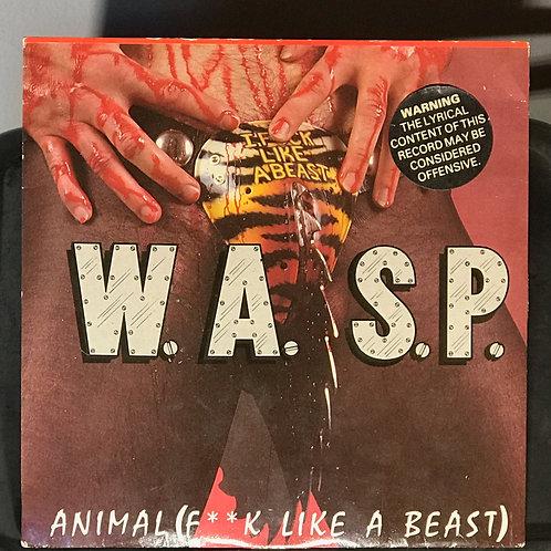 W.A.S.P. Animal UK 45 Single