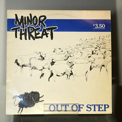 Minor Threat (First Pressing)