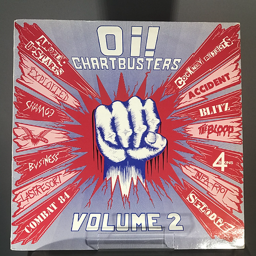 Oi! Chartbusters Vol. 2 1987 UK Compilation
