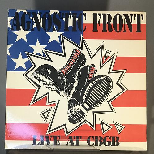 Agnostic Front: Live At The CBGB 1989