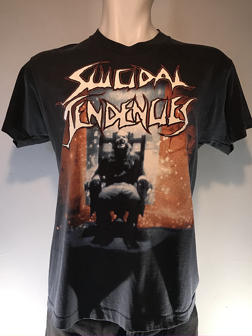 "Suicidal Tendencies 1990 ""You Can't Bring Me Down"" Tour Shirt"