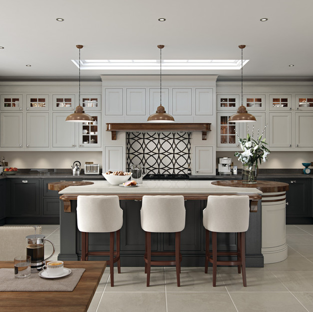 In-frame kitchens