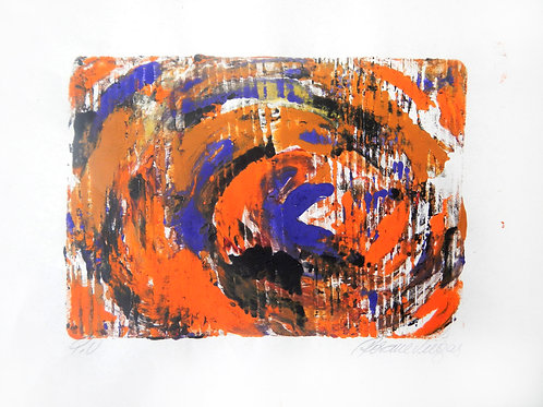 Whirl in Orange