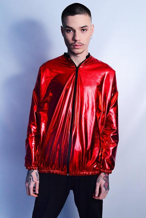 Jaqueta Red Metallic