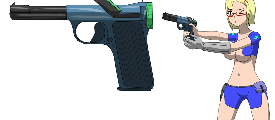Entry #8 - The girls' weapons are here!