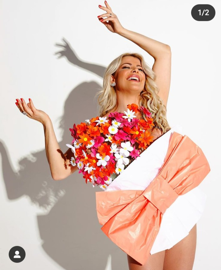 Flores para Karina Bacchi