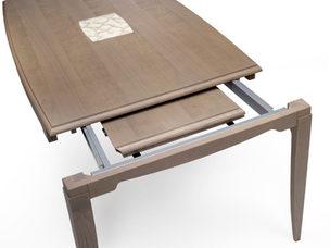 Tavolo rettangolare in frassino allungabile