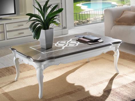 Tavolino rettangolare in frassino