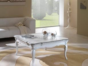 Tavolino quadrato frassino in stile contemporaneo
