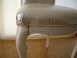 sedia in stile contemporaneo