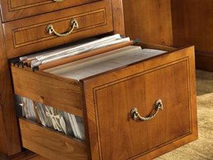 scrittoio direzionale con cassetto porta ducumenti