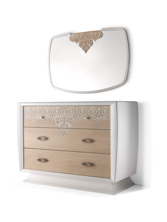 Ash dresser 3 drawers with plinth.