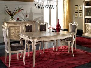 Tavolo frassino rettangolare in stile contemporaneo