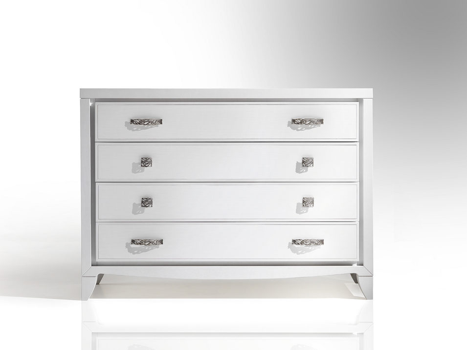 Ash chest of drawers 4 drawers